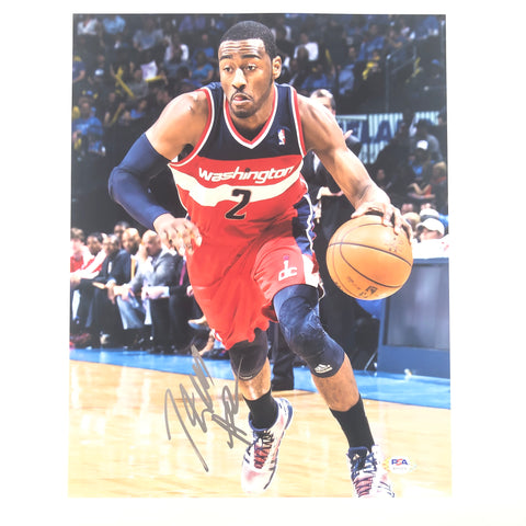 John Wall signed 11x14 photo PSA/DNA Washington Wizards Autographed Kentucky