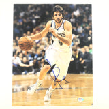 Ricky Rubio signed 11x14 photo PSA/DNA Timberwolves Autographed Spain Suns