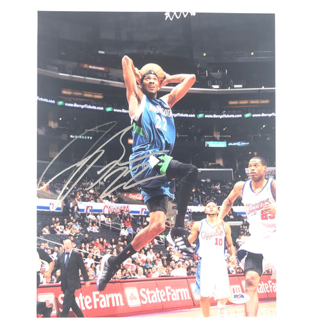 Corey Brewer signed 11x14 photo PSA/DNA Minnesota Timberwolves Autographed