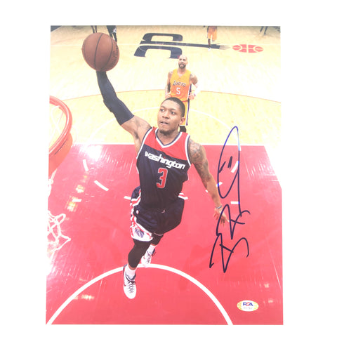 Bradley Beal signed 11x14 photo PSA/DNA Washington Wizards Autographed