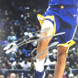 Omri Casspi signed 11x14 Photo PSA/DNA Golden State Warriors Autographed