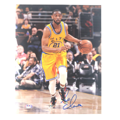 Ian Clark signed 11x14 photo PSA/DNA Golden State Warriors Autographed