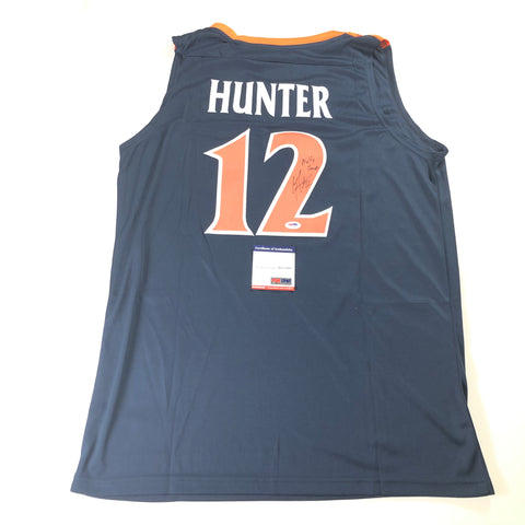 De'Andre Hunter Signed Jersey PSA/DNA Virginia Cavaliers Autographed