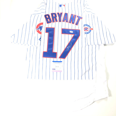Kris Bryant signed jersey PSA/DNA Chicago Cubs Autographed