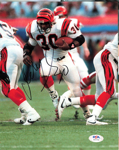 Ickey Woods signed 8x10 photo PSA/DNA Cincinnati Bengals  Autographed