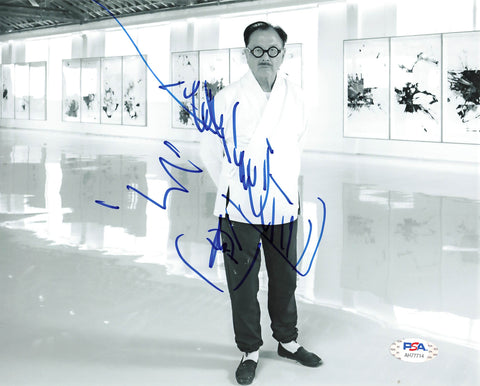 Michael Chow signed 8x10 photo PSA/DNA Autographed