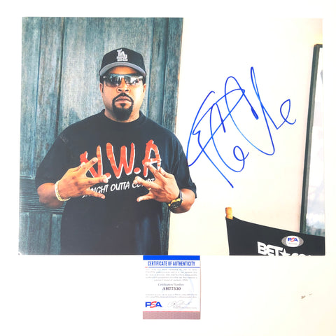Ice Cube signed 11x14 photo PSA/DNA Straight Outta Compton autographed
