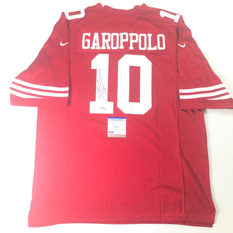 Jimmy Garoppolo signed jersey PSA/DNA San Francisco 49ers Autographed