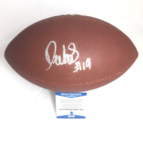 Deebo Samuel Signed Football BAS Beckett San Francisco 49ers Autographed