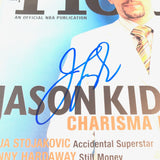 Jason Kidd signed Hoop Magazine PSA/DNA Autographed Los Angeles Lakers