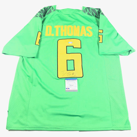 DeAnthony Thomas Signed Jersey PSA/DNA Oregon Ducks Autographed