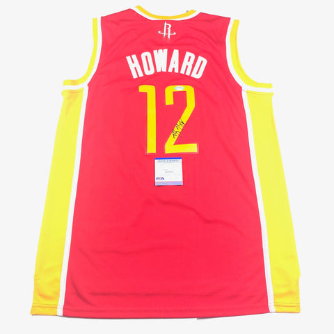 Dwight Howard Signed Jersey PSA/DNA Houston Rockets Autographed