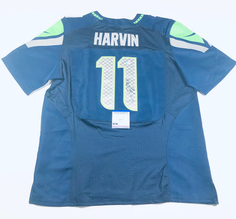 Percy Harvin signed Jersey PSA/DNA Seattle Seahawks Autographed