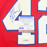 Elton Brand signed jersey PSA/DNA Los Angeles Clippers Autographed Sixers