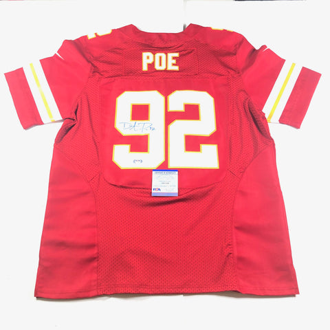 Dontari Poe Signed Jersey PSA/DNA Kansas City Chiefs Autographed