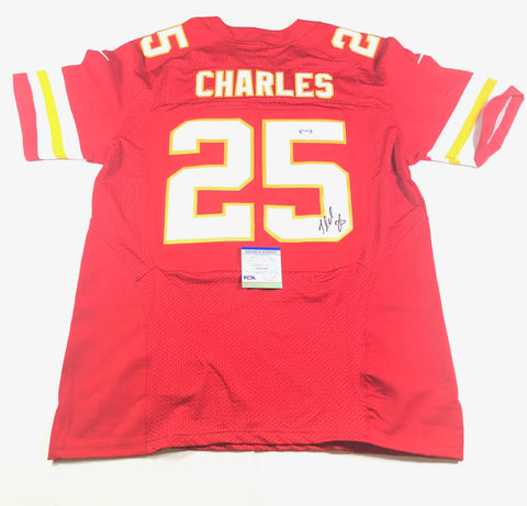 Jamaal Charles Signed Jersey PSA/DNA Kansas City Chiefs Autographed