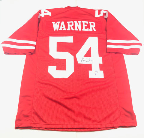 Fred Warner signed jersey PSA/DNA BAS Beckett San Francisco 49ers Autographed