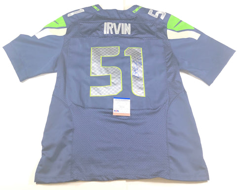 Bruce Irvin signed Jersey PSA/DNA Seattle Seahawks Autographed