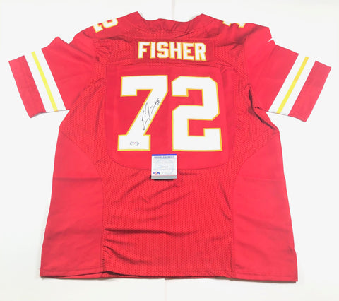 Eric Fisher Signed Jersey PSA/DNA Kansas City Chiefs Autographed