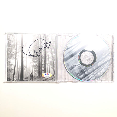 Taylor Swift Signed CD Cover PSA/DNA Folklore Autographed