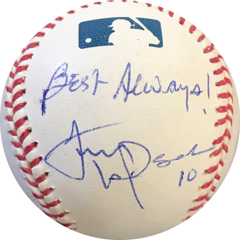 Tony LaRussa signed baseball PSA/DNA Oakland Athletics autographed inscribed