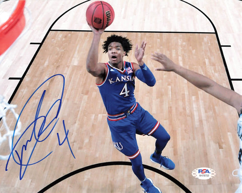 Devonte' Graham signed 8x10 photo PSA/DNA Kansas Jayhawks Autographed