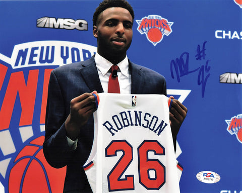 Mitchell Robinson signed 8x10 photo PSA/DNA New York Knicks Autographed