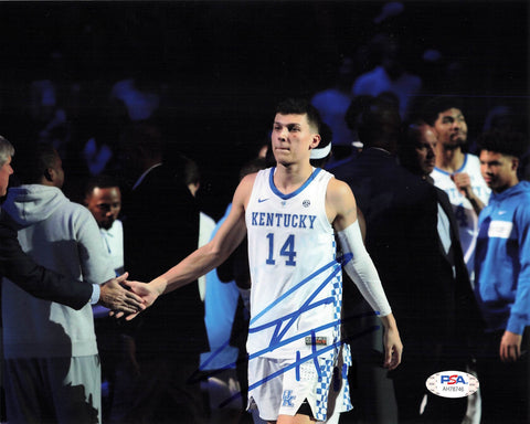 Tyler Herro signed 8x10 photo PSA/DNA Kentucky Wildcats Autographed