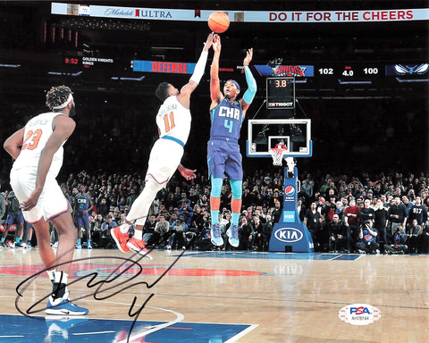 Devonte' Graham signed 8x10 photo PSA/DNA Charlotte Hornets Autographed