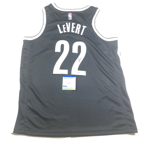 Caris LeVert Signed Jersey PSA/DNA Brooklyn Nets Autographed