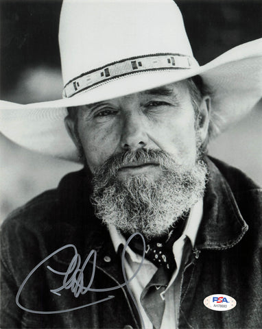 Charlie Daniels signed 8x10 photo PSA/DNA Autographed