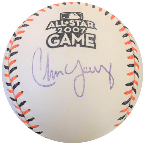 Chris Young signed 2007 All-Star baseball PSA/DNA autographed ball