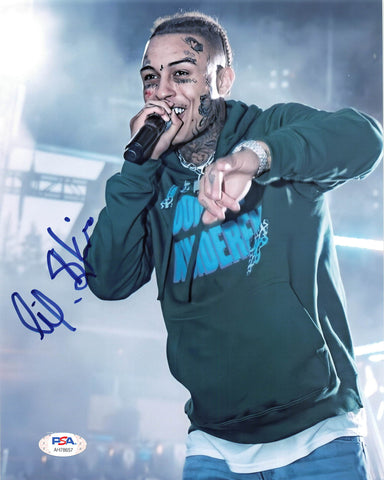 Lil Skies signed 8x10 photo PSA/DNA Autographed Rapper
