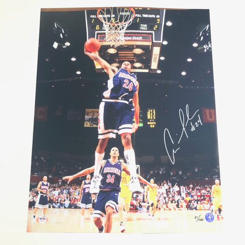 Andre Iguodala Signed 16x20 Photo PSA/DNA Arizona Wildcats Autographed