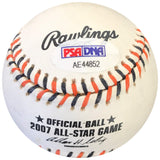 Dmitri Young signed 2007 All Star Game baseball PSA/DNA Tigers autographed