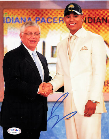 Jerryd Bayless signed 8x10 photo PSA/DNA Indiana Pacers Autographed