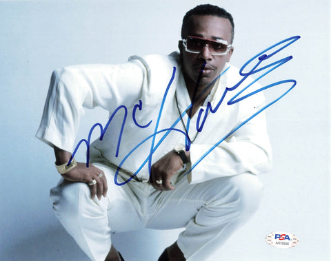 MC Hammer signed 8x10 photo PSA/DNA autographed Can't Touch This