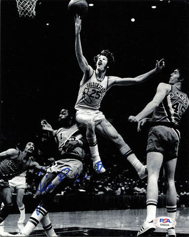 Jim Barnett signed 8x10 photo PSA/DNA Golden State Warriors Autographed