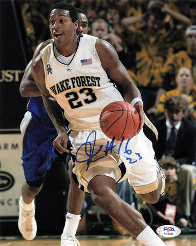 James Johnson signed 8x10 photo PSA/DNA Wake Forest Autographed