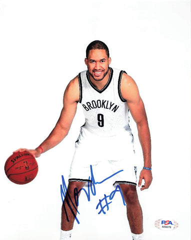 Jerome Jordan signed 8x10 photo PSA/DNA Brooklyn Nets Autographed