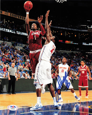 JAMYCHAL GREEN signed 8x10 photo PSA/DNA Alabama Crimson Tide Autographed