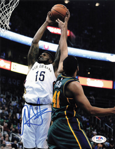 Alonzo Gee signed 8x10 photo PSA/DNA New Orleans Pelicans Autographed Cleveland Cavaliers