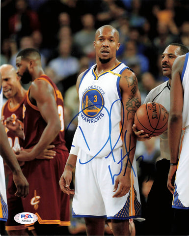David West signed 8x10 photo PSA/DNA Golden State Warriors Autographed