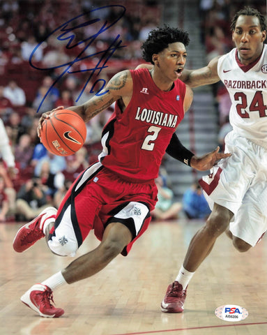 Elfrid Payton Signed 8x10 Photo PSA/DNA Louisiana Autographed Orlando Magic