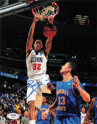 Jajuan Johnson signed 8x10 photo PSA/DNA Richmond Autographed