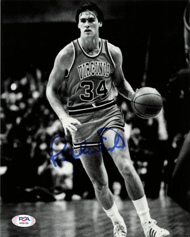 RICK CARLISLE signed 8x10 photo PSA/DNA West Virginia Mountaineers Autographed