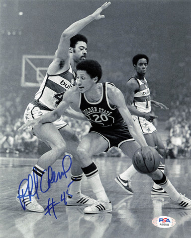 Phil Cheiner signed 8x10 photo PSA/DNA Washington Bullets Autographed