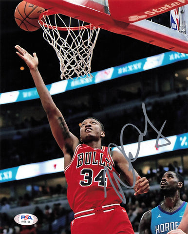 Wendell Carter Jr. signed 8x10 Photo PSA/DNA Chicago Bulls