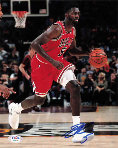 Bobby Portis signed 8x10 photo PSA/DNA Chicago Bulls Autographed