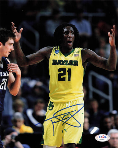 Taurean Prince signed 8x10 photo PSA/DNA Baylor Autographed
